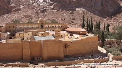 Монастырь Святой Екатерины в Синае, Египет