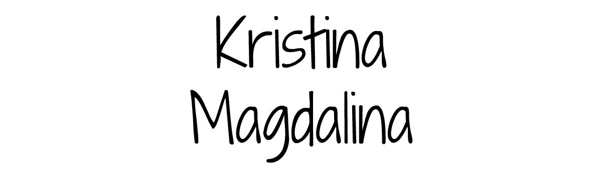 KRISTINA MAGDALINA
