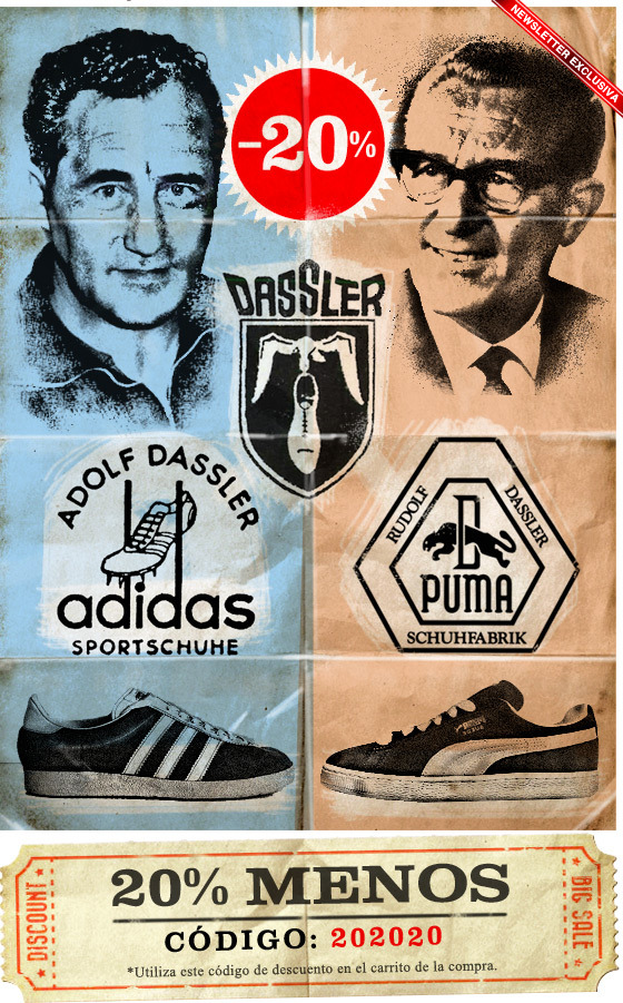 PUMA AND ADIDAS. REAL WARRING BROTHERS 741876ea2