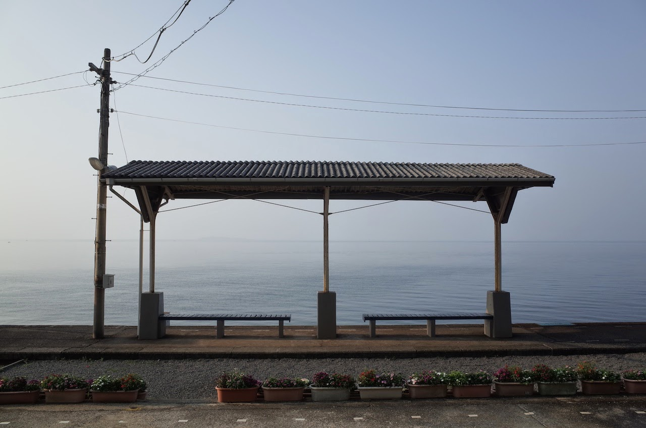 下灘駅:一番海に近かった駅