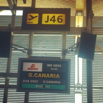 Vuelo Iberia Gran Canaria