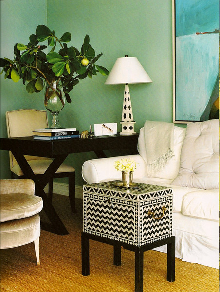 Color code decorating with kelly green every bit lovely for 8 bit room decor
