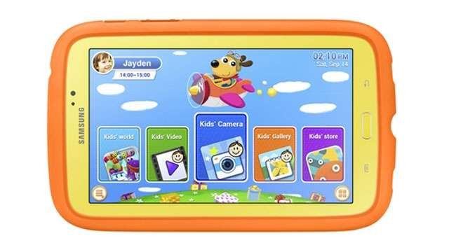 Samsung Announces The Galaxy Tab 3 Kids Edition