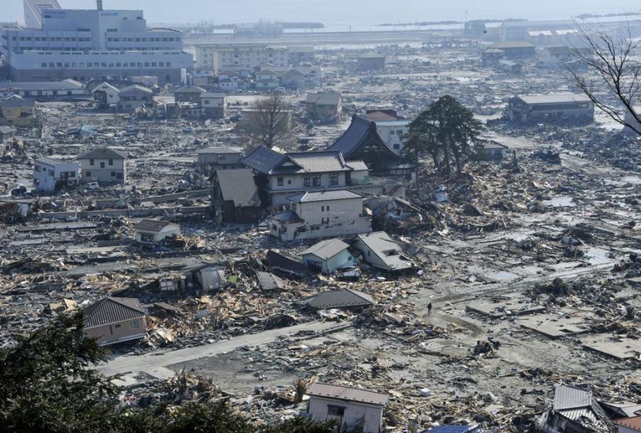 Trzęsienie ziemi w Shang Shi w Japonii