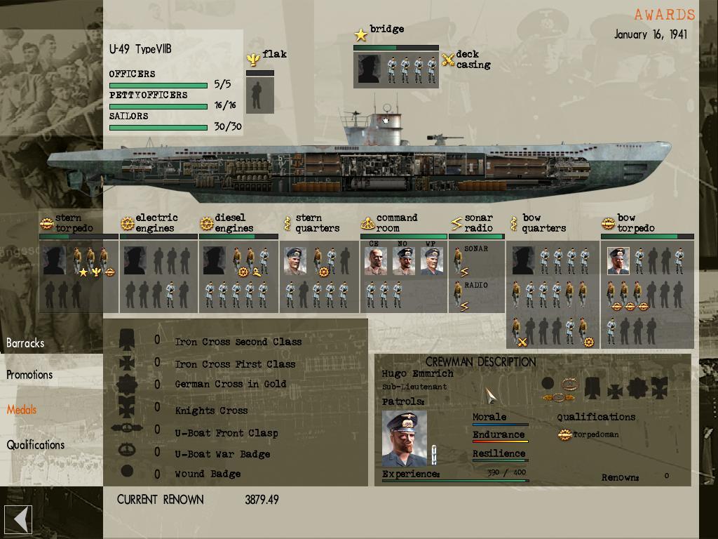 silent hunter 3 карта конвоев: