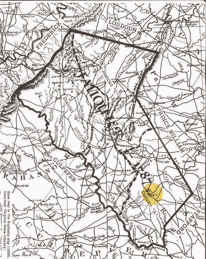 Indiana rush county - 1787 Map Of Fauquier County Virginia Elk Run Is Highlighted Http Freepages Genealogy Rootsweb Ancestry Com Kell Mom Groves 1787_fauquier_co_va_map_