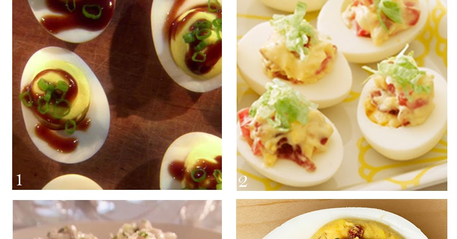 Southern Food Deviled Eggs Recipe