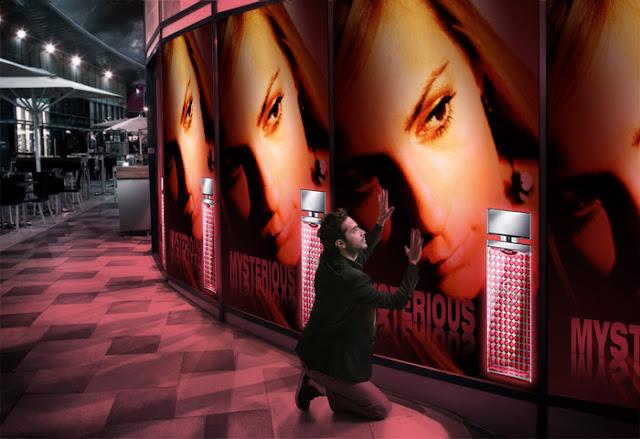 Blanca Balzola montaje centro comercial