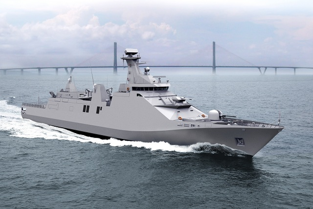 Indonesia's PKR Program is based on Damen Schelde's Sigma 10514 design