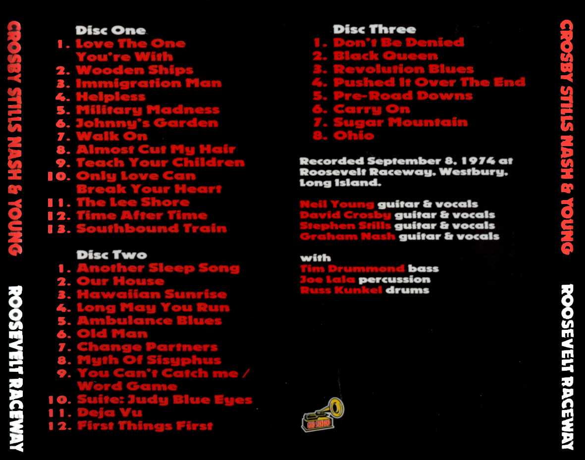 Csny  Tour Box Set
