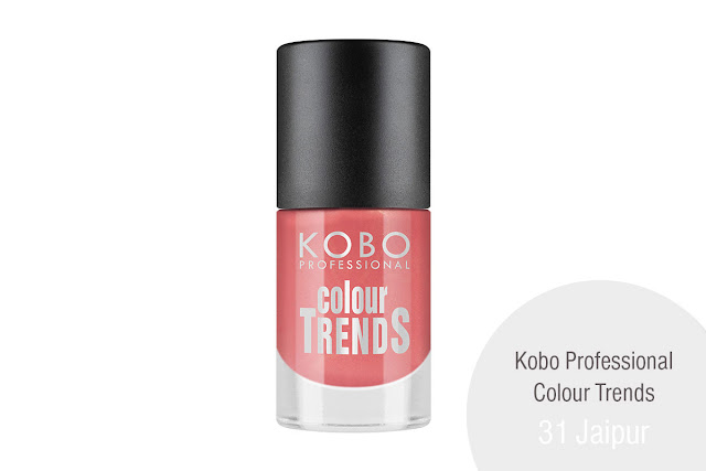 KOBO PROFESSIONAL COLOUR TRENDS NAIL POLISH 31 Jaipur