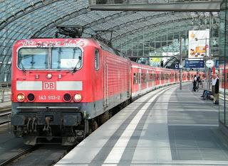 trenes cercanías Berlín U-Bahn