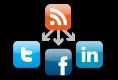 Cómo compartir las entradas del blog en Facebook o Twitter
