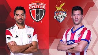 NorthEast United FC vs Atlético de Kolkata ISL Live Streaming Live Score