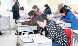 202 000 profesores que rindieron el examen