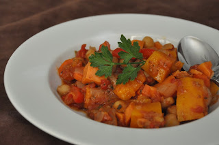 Tagine of Fall Vegetables