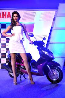 Stills: Deepika Padukone endorses Yamaha scooters