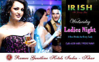 Ladies night at Irish Lounge Bar Mumbai
