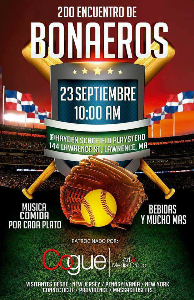 2do ENCUENTRO DE BONAEROS EN BOSTON ESTE 23 DE SEPT.