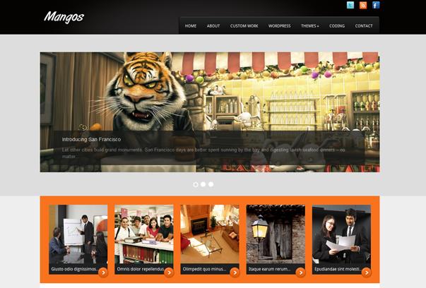 fresh free wordpress themes+%252813%2529 2012 En Güzel Bedava WordPress Temaları indir