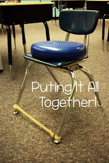 "Using Balance Cushions and Bands to help your ""wiggly,"" ADHD, ADD students."