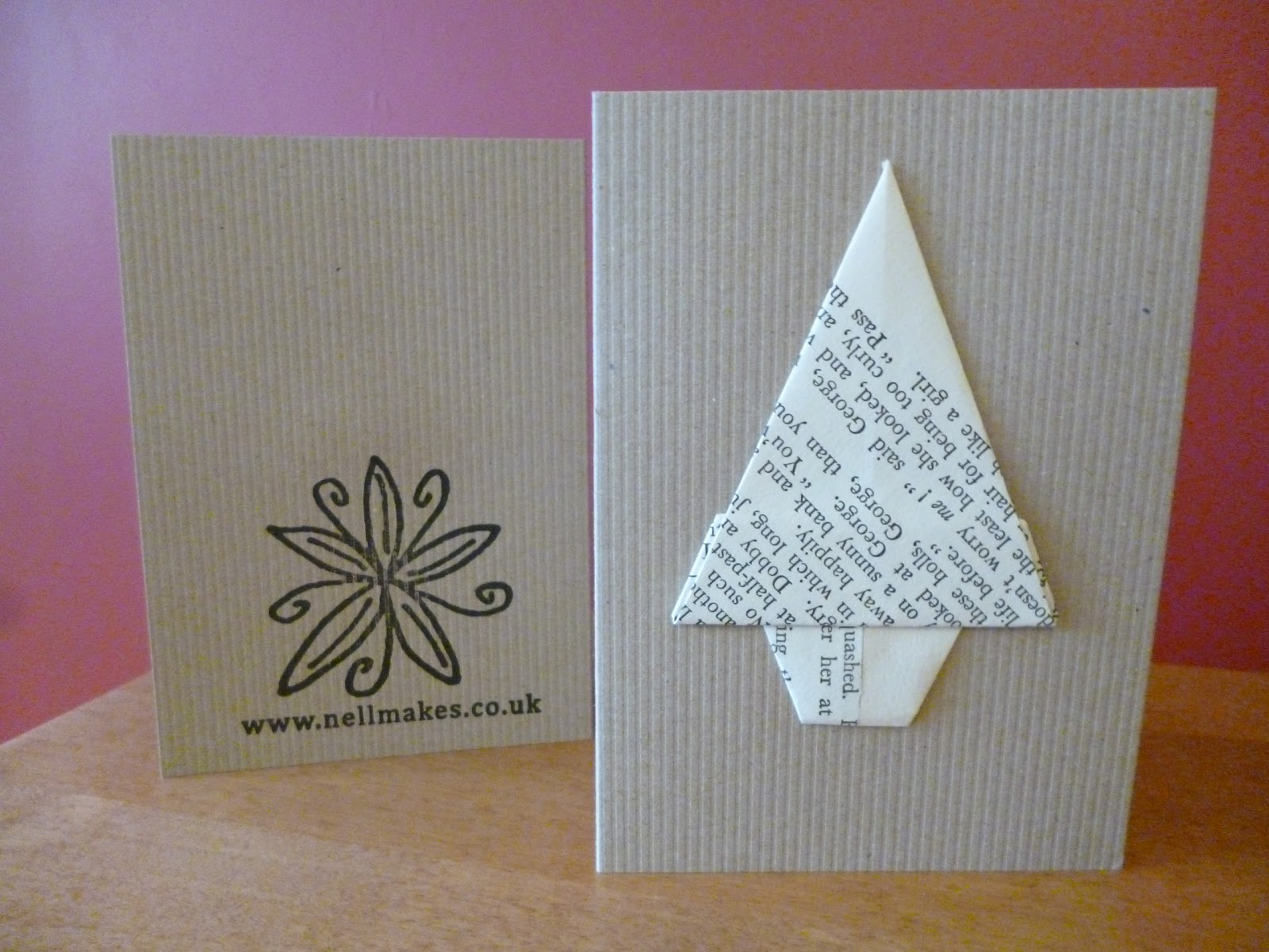 Nell Makes Handmade Christmas Cards and Giveaway | Garden, Tea ...