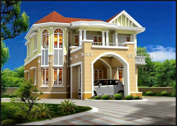 image of homes modern new design exterior - Unusual Home Designs