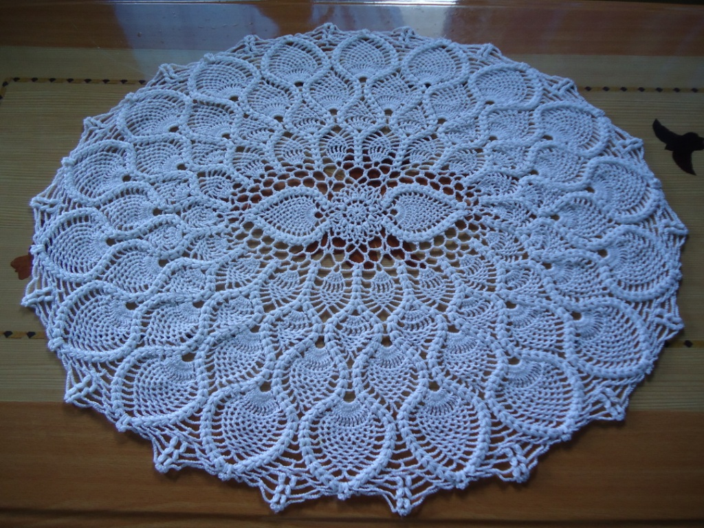 Crochet Patterns Doilies Beginners : Crochet Doily Pattern Sunflower Crochet Guild