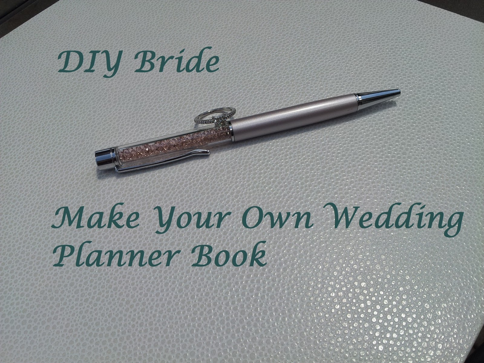 Sleepless in diy bride country how to make your own for Create your own planner online