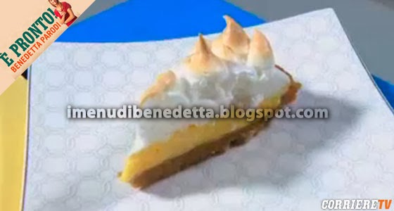 Torta Lemon Merigue Pie di Benedetta Parodi