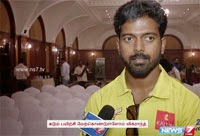 Actor Vikranth speaks about star cricket