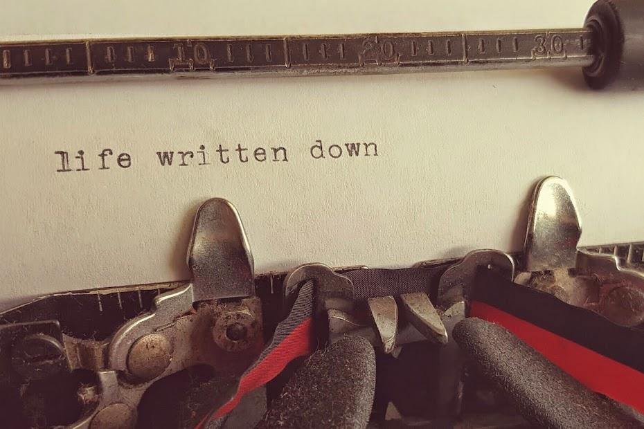 Life Written Down