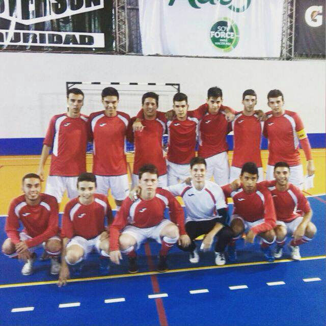 Plantel del City Park Sub 20 Futsal 2015