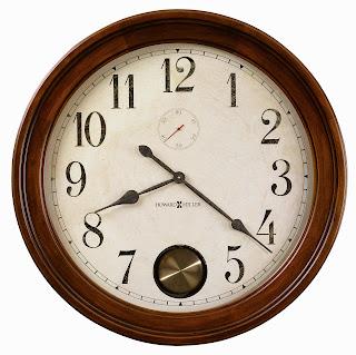 """Large Wall Clock - Howard Miller Auburn 32"""" Gallery Clock 620484"""