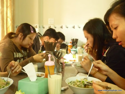Dalat city - have breakfast together
