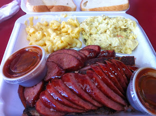Dave's Bar-B-Que BBQ Barbecue Barbeque Bar-B-Q Dallas DFW Ribs Sausage