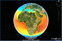 Europe and Africa Temperatures