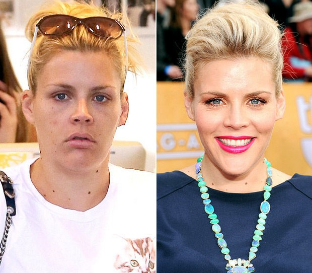 Celebrities without make up self improvement
