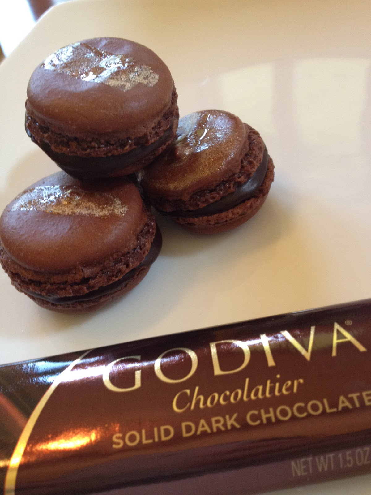 The Macaron Queen: Godiva Chocolate the Diva Macaron Recipe