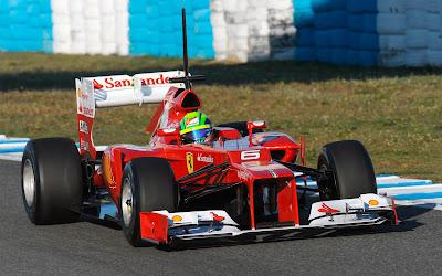 ferrari f2012 Racing Car Wallpapeers