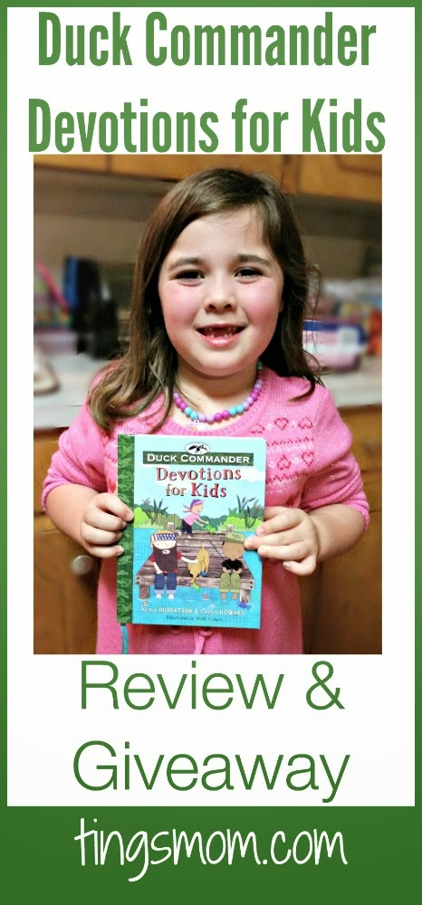 Duck Commander Devotions for Kids | giveaway ends 2.21.15