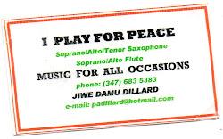 Jiwe Damu Dillard, musician