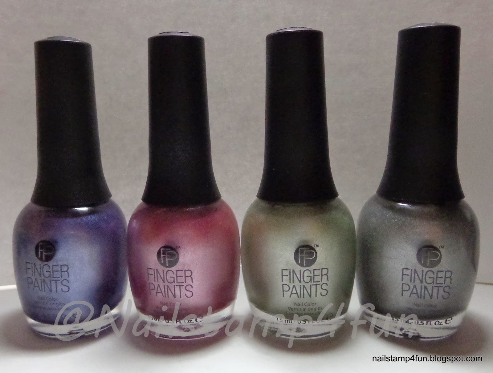 Nail Stamp 4 Fun: FingerPaints Rock My World 2014 Collection ...
