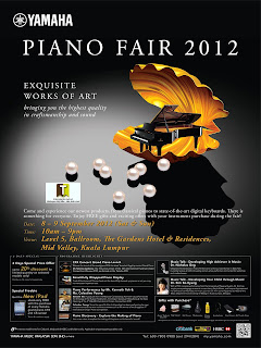 Yamaha Piano Fair 2012
