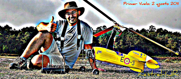 """Autogiro """"Primer Vuelo 02-08-2011"""