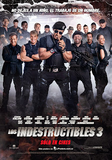 Los Indestructibles 3 / Los Mercenarios 3 Poster