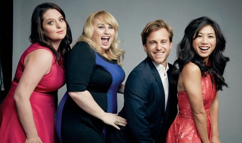 Rebel Wilson cant keep her hands off her hunky boyfriend