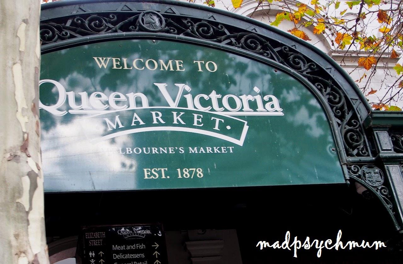 Madpsychmum Singapore Parenting Travel Blog Melbourne Day 5 Queen Victoria Market