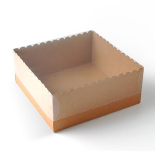 boîte pour gâteux, boîte à gâteaux, couvercle transparent, boîte en carton, boîte vide
