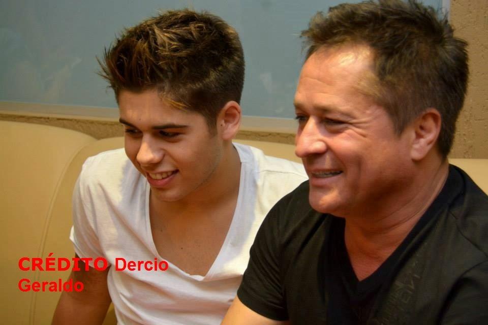 Leonardo no jantar com fãs  band fm 30/10/ 2014